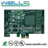 4 Layer PCB, BGA, Lf Hal + Gold Fingers