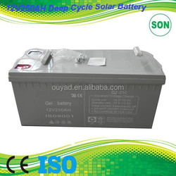 250AH 12v lead acid battery for solar system with trade assurance