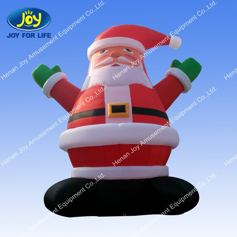 Ft giant inflatable santa claus lighted