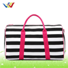 multicolor canvas promotional travel luggage bags