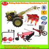 Agriculture Machinery ditcher matched 8-15HP mini walking tractor, farm machinery use for walking tractor