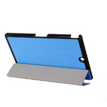 Ultra Slim Smart Tablet Cover Case for Sony Xperia,for Sony Xperia Z3 Stand Magnetic Leather Tablet PC Case