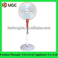 oscilante de la moda de rotary de piso ajustable del ventilador de pedestal con precio bajo