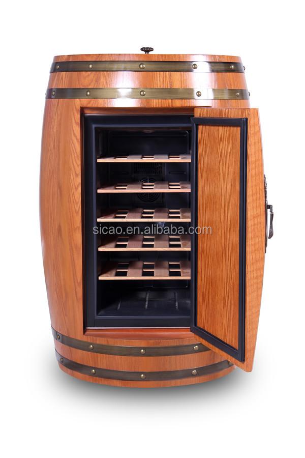 Innovative Novelty Beer Cooler Fridge Wooden Wine Bottle Holder Boat Fridge With Furniture