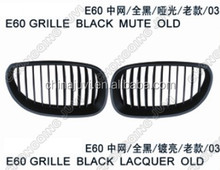 High quality and best price for BMW 5series E60 grill 2003 black old type,made in china,replacement,,modify parts china supply