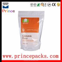 Food grade plastic corn starch bag/plastic packaging bag for corn starch