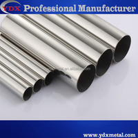 Straight seam stainless steel pipe machinery for Handrail tubes manufacture Indonesia