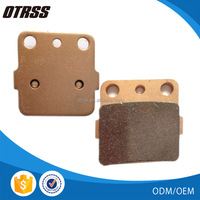 Chinese largest high performance sintered brake pads for yamaha atv OEM supplier