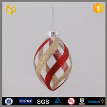 Clear glass ball christmas ornaments