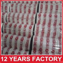 strong adhesive custom logo printed tape,custom printed packing tape,bopp adhesive tape
