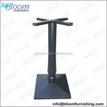 stone pedestal table base, drum table base, tempered glass top base dining table