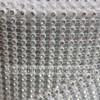 10Yard 24 rows colorful rhinestone mesh ribbon with diamond stone plastic wrap roll