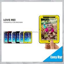 for iPad Mini 2 Case,Love Mei Waterproof Shockproof Case for iPad Mini 2, Metal case for Ipad Mini 2