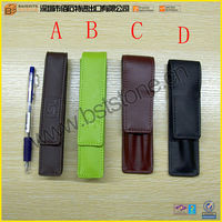 Handmade Leather Pen Case, Pen&Pencil Gift Package For Display