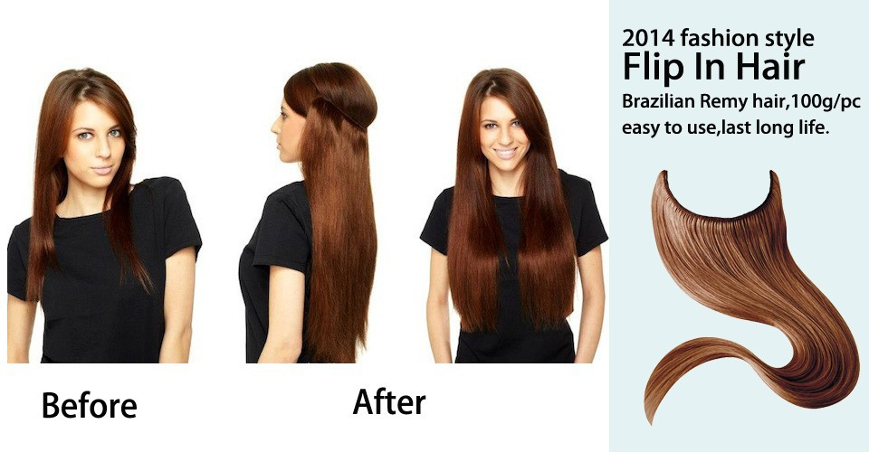 2014 fashion style flip in hair extensions halo hair extensions flip in hair 3 pmusecretfo Image collections