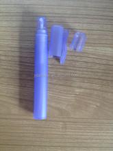 purple matt plastic pen refill perfume atomizer spray bottle