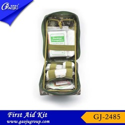 With CE FDA Certificate durable professional produce first aid kit / army bag shenzhen supplier