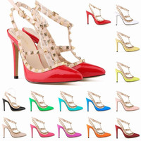 Latest European America high heel shoes fashion sandals ladies shoes 2014(M20100C)