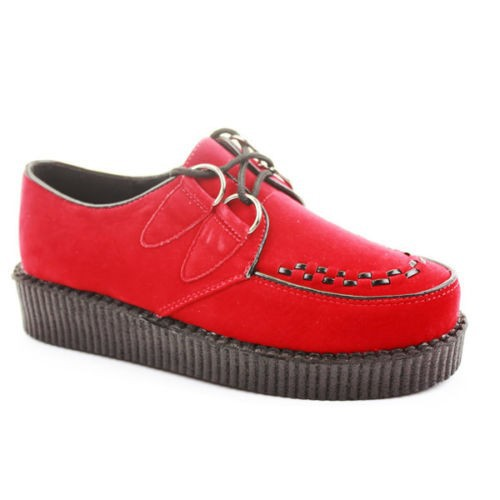 WOMENS SHOES CREEPERS PLATFORM WEDGE LACE UP SHOES CASUAL SHOES BOOTS