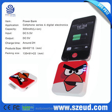 2015 New Arrival High Capacity Cartoon Character Smart Mobile Power Bank Manual China OEM Factory!! Hot Sale!!