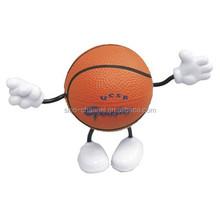 Funny Unique Novelty Basketball Figure Stress Ball