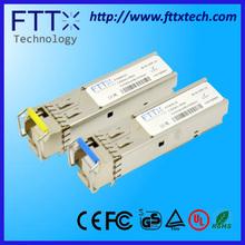 hot selling fiber SM 1.25Gb/s 3km fp single LC Bi-Di COMPATIBLE OPTICAL TRANSCEIVER