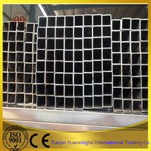 Q235 ERW carbon square pipe as building material