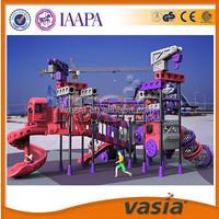 VASIA 15 Year Anniversary!!!Customized factory price China 2015 used playground equipment for sale