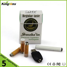 2015 classic product Kingtons e cig 808d kit with 808d USB charger