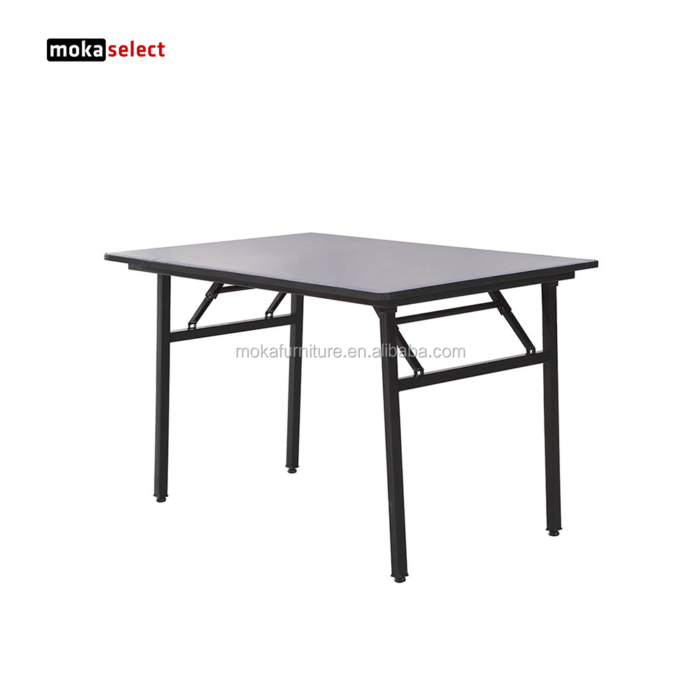 Retangular pequena mesa dobrável mesas de salão de banquetes dimensões
