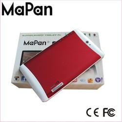 Dual sim android gps mobile phone 3g 7 inch android 4.4, MaPan 3g wifi dual sim android phone, tablet 7 inch mtk8312 MaPan