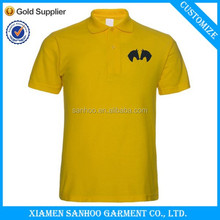Fashion High Quality Cute Printed Polo Kids Custom Tshirts Wholesale