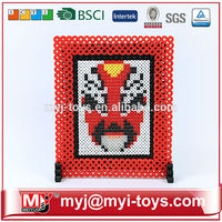 Gift set MYJ 5MM diy bead kids bricks intellect blocks toys