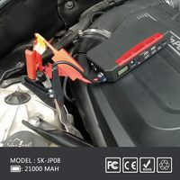 Jump starter in emergency suit,electric car conversion kit jump starter power station with 21000mah