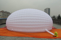 20ft White Inflatable Half Dome Shell Tent, Weddings, Parties, Dj's