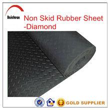 3mm-6mm Thick Various Pattern Flooring Anti Slip rubber mat