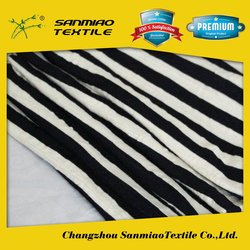 SANMIAO Brand OEM new navy blue and white stripe fabric SBWHCP-165