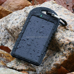 High Capacity Solar Panel Charger 12000mAh With Waterproof,Dirtproof,Shockproof Function