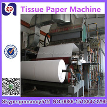 2015 best selling guangmao Jumbo roll toilet paper machine /industrial jumbo tissue paper machine cost