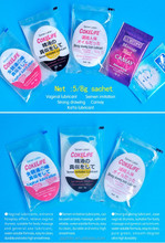 5g Water Based Personal Lubricant Sachet condoms private label, sachets natural sex personal lubricant