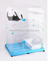 Cat cage , pet cat cage , stainless steel cat cage