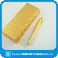 gift noble real golden luxury electroplate 18K gold pen