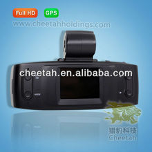 1080p vehicle car camera dvr video recorder with GPS ,G-sensor