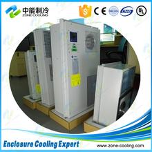Indoor & outdoor electrical panel air conditioner
