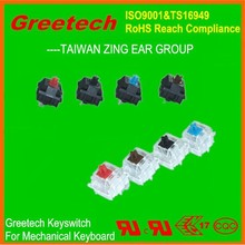 over 80million operations greetech key switches adjustable computer keyboard stand