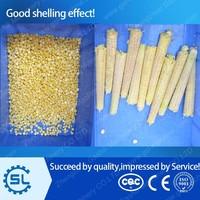 Stainless steel corn sheller and green corn cutter