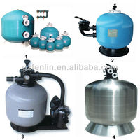 High quality 400-2500mm tank sand filter,famous brand aqua sand filter