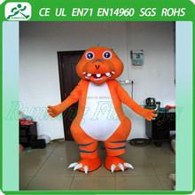 Hot sale dinosaur mascot costume cartoon for performance