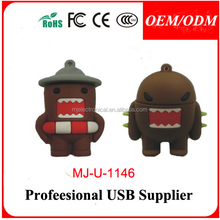 Promotional Christmas day custom pvc usb flash drive , Paypal/Escrow accept