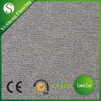 Factory direct selling glueless carpet kitchen plastic flooring